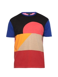 Marc By Marc Jacobs Dune Colour Block Cotton T Shirt