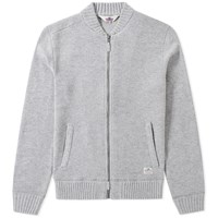 Penfield Eastport Zip Cardigan Grey
