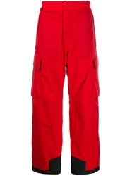 Moncler Grenoble Gortex Snowboard Pants Red