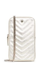 Kate Spade New York Amelia North South Phone Crossbody Bag Pale Gold
