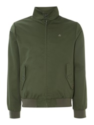 Merc Casual Full Zip Harrington Jacket Green