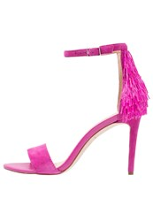 Katy Perry The Kate High Heeled Sandals Fuschia Pink