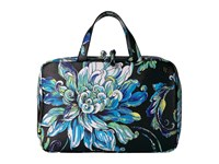 Elliott Lucca Travel Case Blue Wildflower Handbags Black