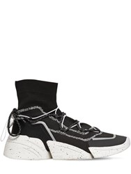 Kenzo Knitted High Top Sneakers Black