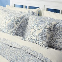 Morris And Co Willow Bough Duvet Cover China Blue King