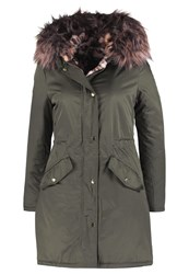 New Look Parka Dark Khaki