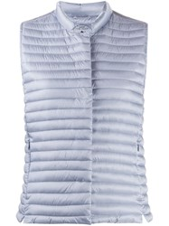 Save The Duck Iris Padded Gilet Blue