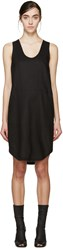 Denis Gagnon Ssense Exclusive Black Linen Dress