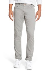 Men's Bonobos 'Bedford' Slim Fit Straight Leg Corduroy Pants Grey