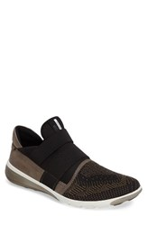 Ecco Men's 'Intrinsic' Sneaker Tarmac Black Leather