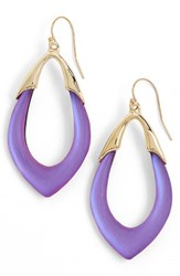 Women's Alexis Bittar 'Lucite Neo Bohemian' Open Drop Earrings Magenta