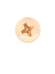 Alison Lou Yellow Gold Screw Head Earring