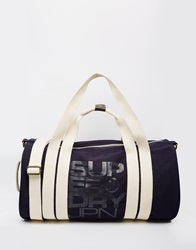 Superdry Canvas Holdall Blue