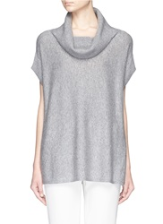 Vince Cowl Neck Cashmere Sweater Grey