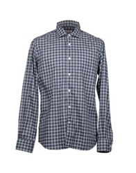 Hamptons Long Sleeve Shirts Dark Green
