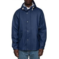 Norse Projects Navy Anker Classic Jacket Blue