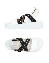 Cafe'noir Cafenoir Sandals White