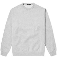 Alexander Wang T By Vintage Fleece Crew Sweat Grey