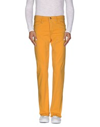 9.2 By Carlo Chionna Trousers Casual Trousers Men Ocher