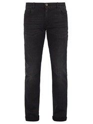 Prada Slim Leg Stretch Denim Jeans Black