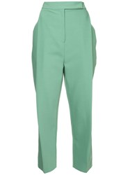 Camilla And Marc Osa Structured Trousers Green