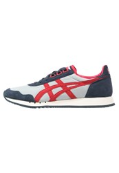 Onitsuka Tiger By Asics Dualio Trainers Light Grey Classic Red