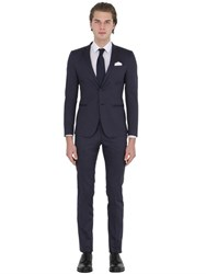 Manuel Ritz Super Slim Fit Stretch Cotton Satin Suit
