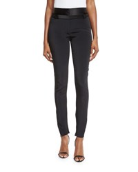 Tom Ford Satin Trimmed Military Cady Pants Black