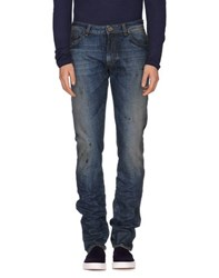 Gaetano Navarra Denim Denim Trousers Men Blue