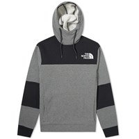 The North Face Himalayan Popover Fleece Hoody Grey