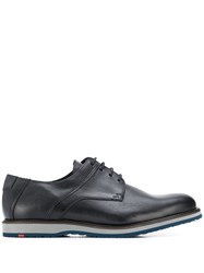 Lloyd Textured Panel Derby Shoes Black