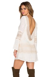 Liv Bell Sleeve Dress Ivory