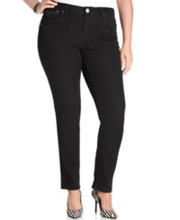 Hydraulic Plus Size Bailey Super Skinny Jeans Black Wash
