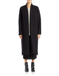 Eileen Fisher Plus Plus Oversized Open Front Cardigan Black