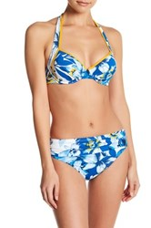Tommy Bahama Fall Floral Underwire Bikini Top Blue