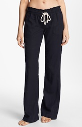 Roxy 'Oceanside' Beach Pants Black