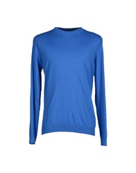 39 Masq Knitwear Jumpers Men Azure