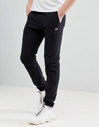 Champion Joggers With Small Logo In Black Black