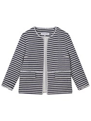 Gerard Darel Vince Stripe Jacket Blue