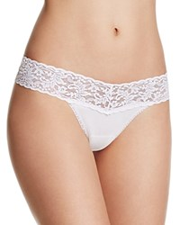 Hanky Panky Thong Cotton With A Conscience Low Rise 891581 White