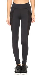 Michi Storme Pocket Leggings Black
