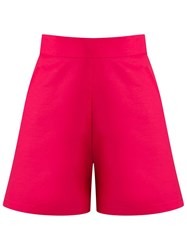 Andrea Marques High Waisted Shorts Pink And Purple