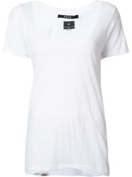 Ksubi Scoop Neck T Shirt White