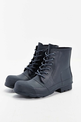 Hunter Original Rubber Lace Up Boot Navy
