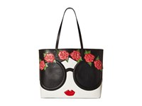 Alice Olivia Missy Stace Face Flowers Large Perfect Tote Multi Tote Handbags