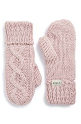 Women's Rella 'Betto' Cable Knit Mittens