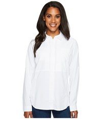 Royal Robbins Expedition Chill Long Sleeve Shirt White Long Sleeve Button Up