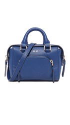 Dkny Greenwich Mini Satchel Bright Lapis