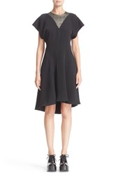 Ellery Women's 'Audrey' Raglan Sleeve Dress Black Light Gold