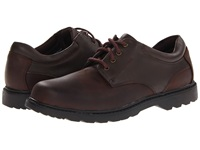 Nunn Bush Stillwater Plain Toe Oxford Lace Up Waterproof Brown Crazy Horse Men's Shoes